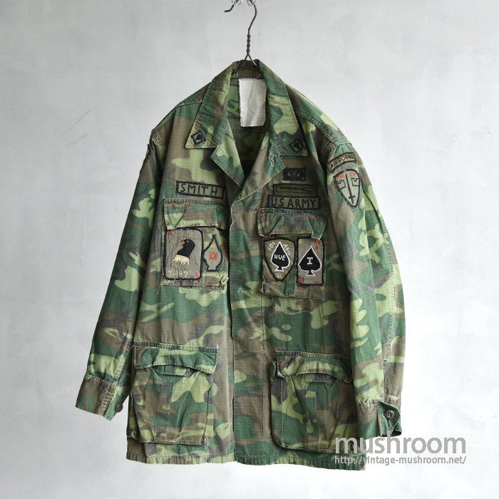 U.S.ARMY ERDL FATIGUE JACKET WITH SPECIAL PATCH
