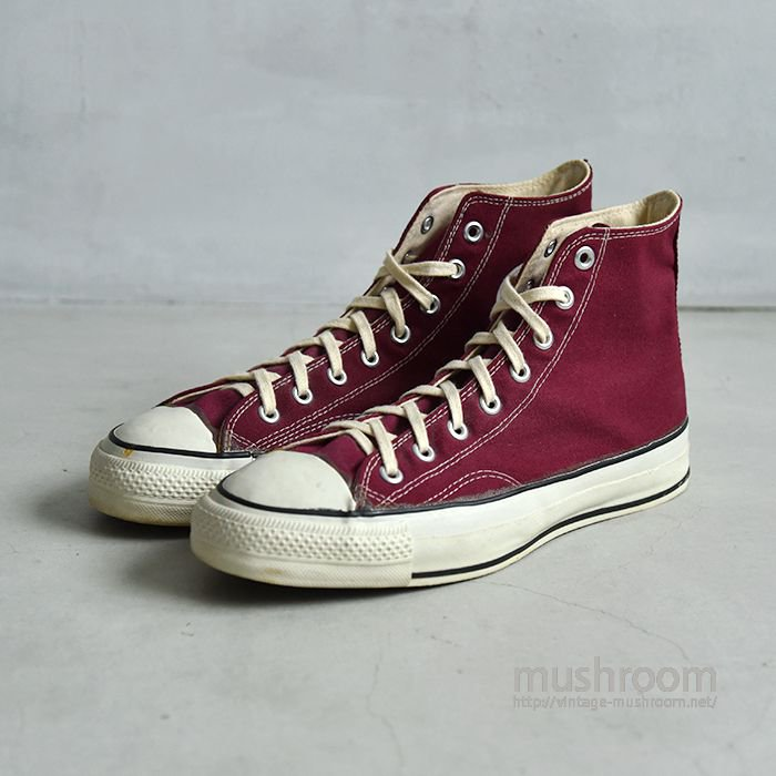 CONVERSE ALL-STAR HI CANVAS SHOES(10/DEADSTOCK )