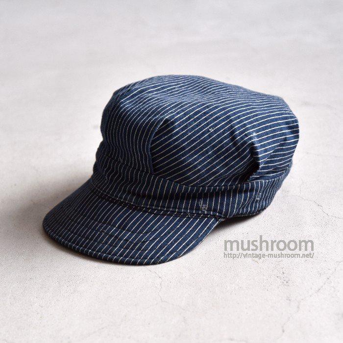 OLD STRIPE WORK CAP