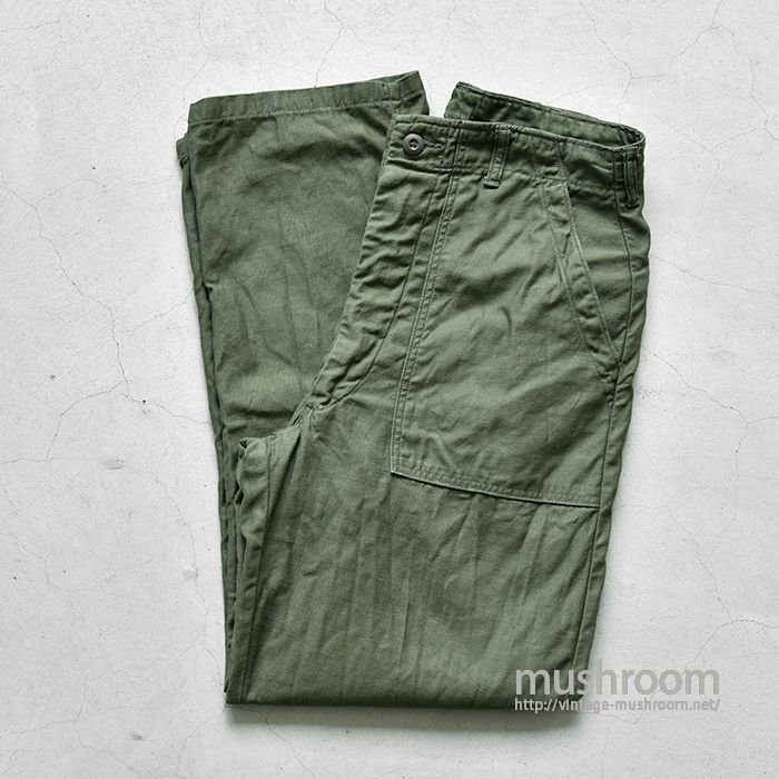 U.S.MILITARY COTTON SATEEN UTILITY TROUSERS