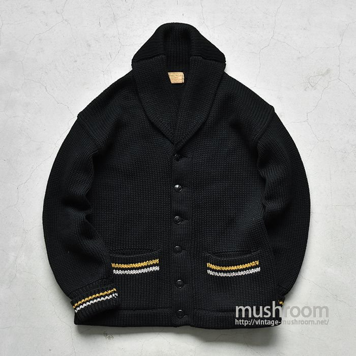 USMA WEST POINT CADET SHAWLCOLLER CARDIGAN( DEADSTOCK )