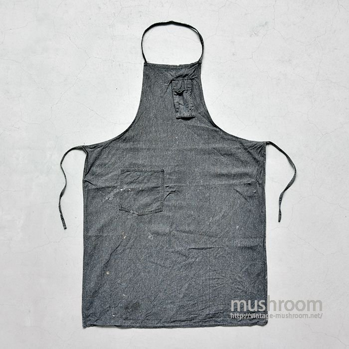 OLD BLACK COVERTS WORK APRON