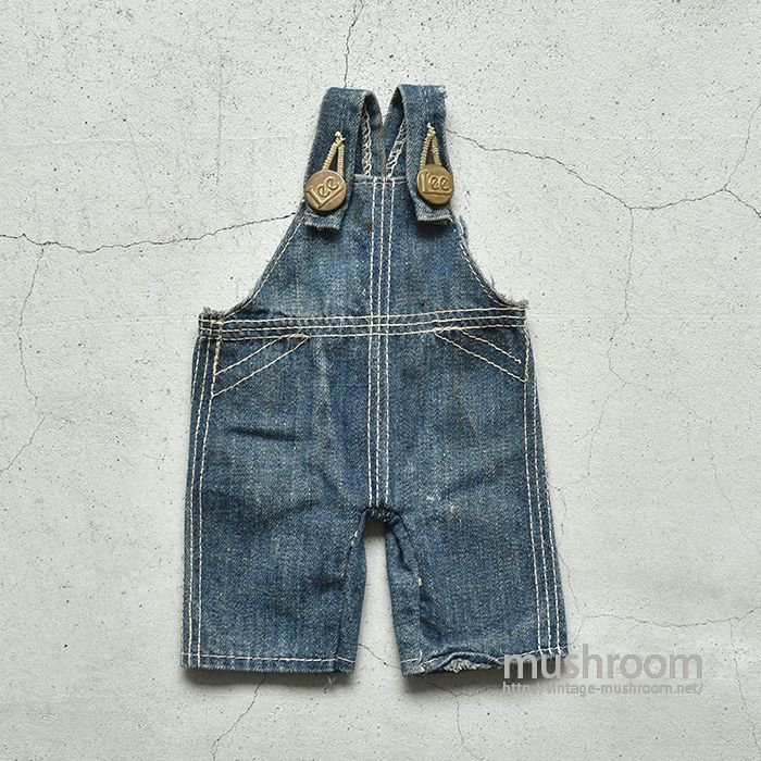 OLD OVERALLS FOR BUFFY LEE(GOOD FADING)