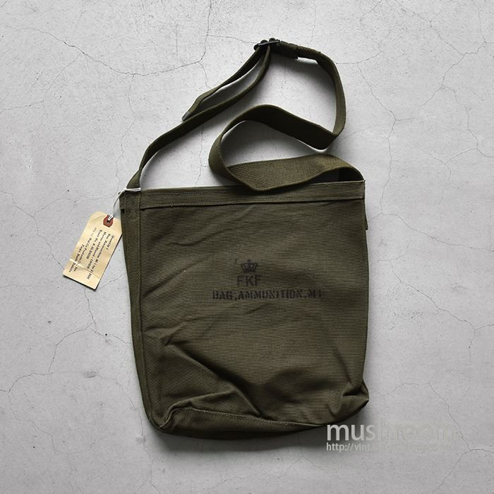 U.S.MILITARY M-1 CANVAS SHOULDER BAG(DEADSTOCK)