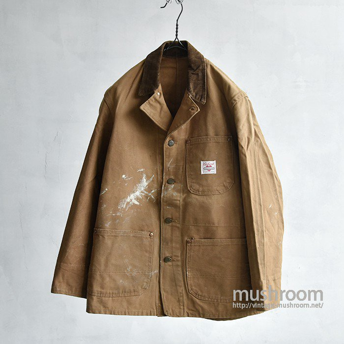 CARHARTT BROWN DUCK COVERALL(CANADIAN MADE)