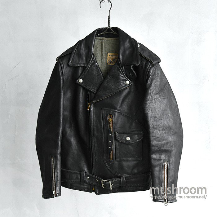 BECK Northeaster 333 M/C Leather Jacket( 32/ALMOST DEADSTOCK )