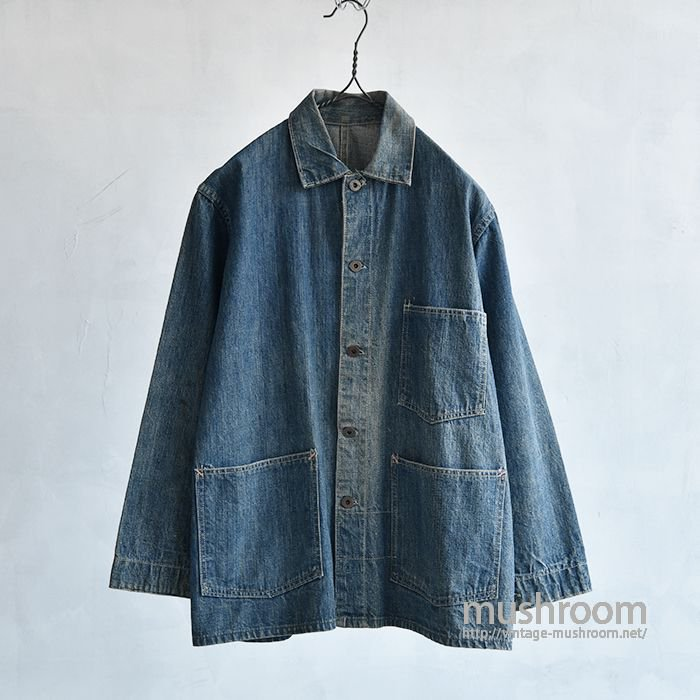 OLD DENIM COVERALL