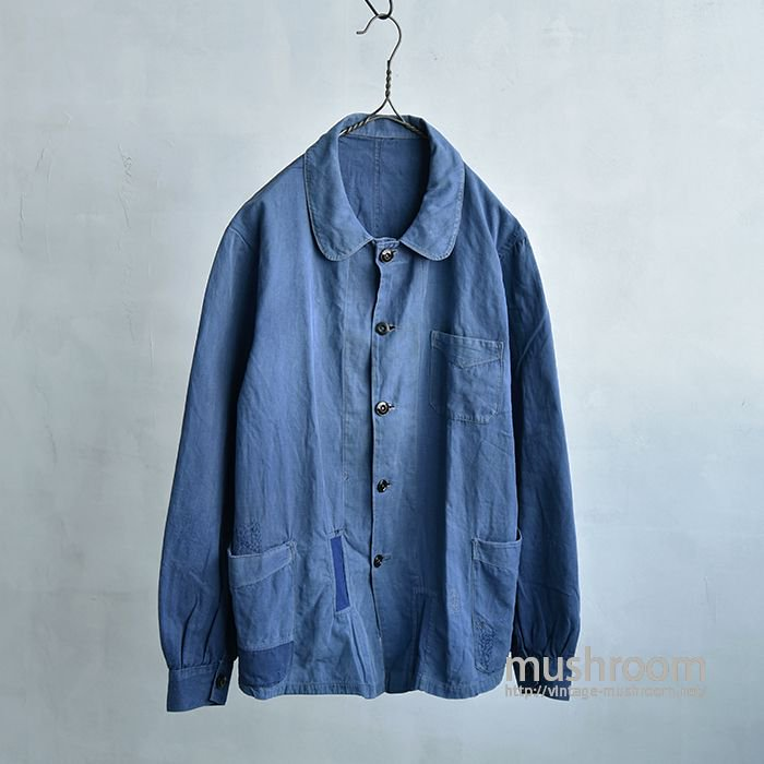 OLD FRENCH COTTON WORK JACKET