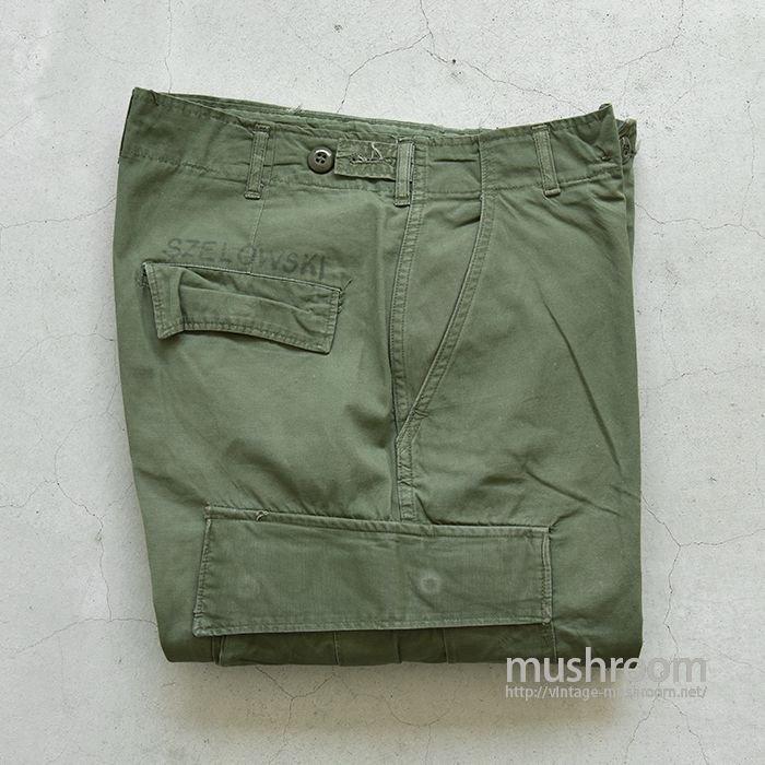 U.S.ARMY JUNGLE FATIGUE PANTS(S-SHORT/2ND)