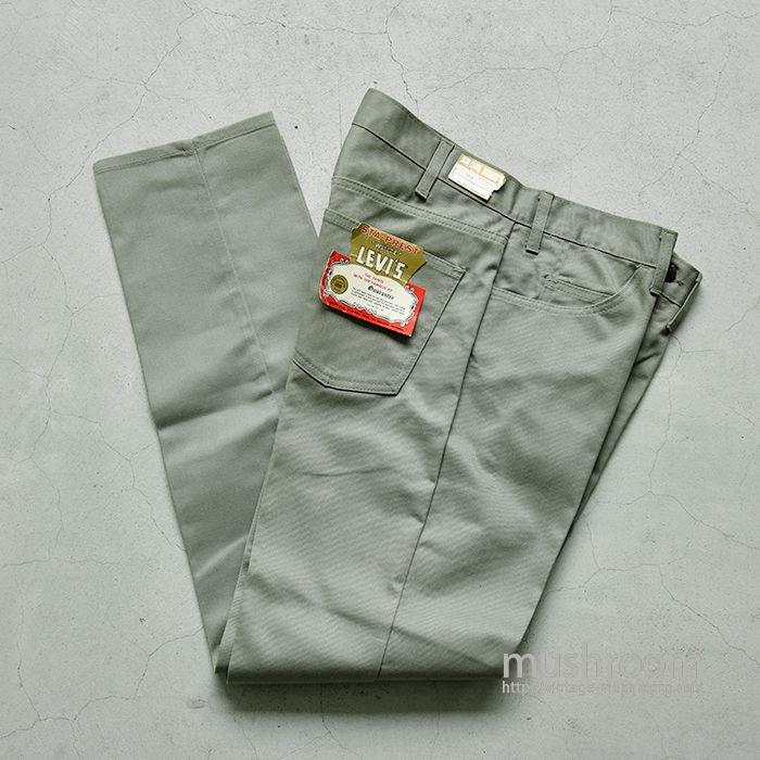 LEVI'S 518E SLIM FITS PANTS( W34L32/DEADSTOCK )