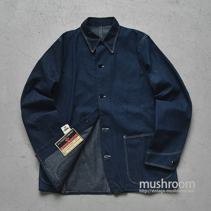 WW2 PAYDAY DENIM COVERALL(40/DEADSTOCK)