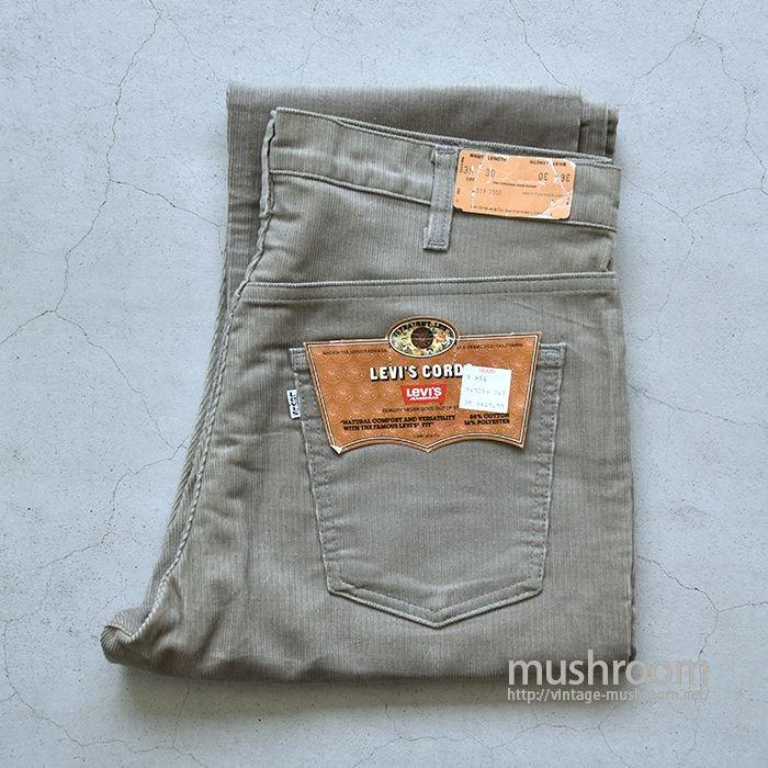 LEVI'S 519-1555 CORDUROY PANTS(36-30/DEADSTOCK)