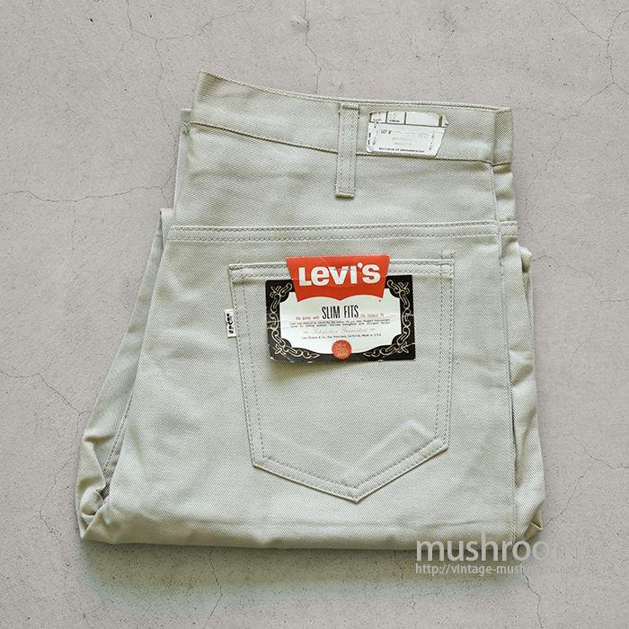 LEVI'S 518E SLIM FITS PANTS( W36L32/DEADSTOCK )