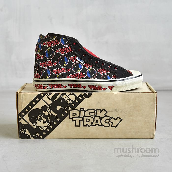 VANS DICK TRACY CANVAS SHOES(9/DEADSTOCK)