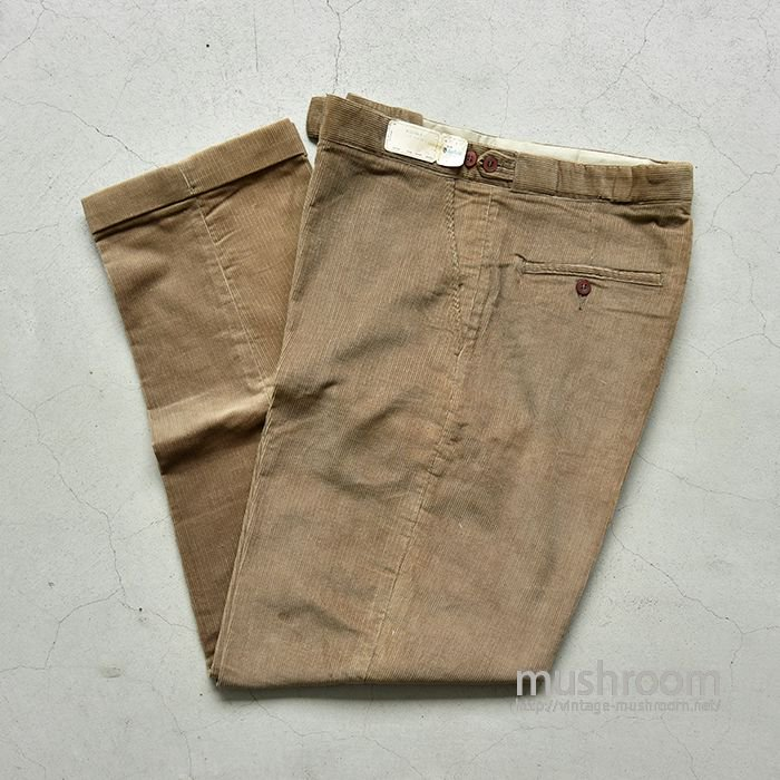 BLUE BELL CORDUROY TAPERED PANTS( W31L29/DEADSTOCK )