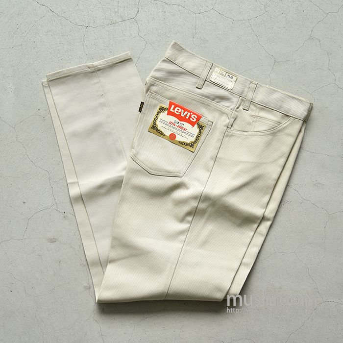 LEVI'S 518E SLIM FITS PANTS( W31L30/DEADSTOCK )