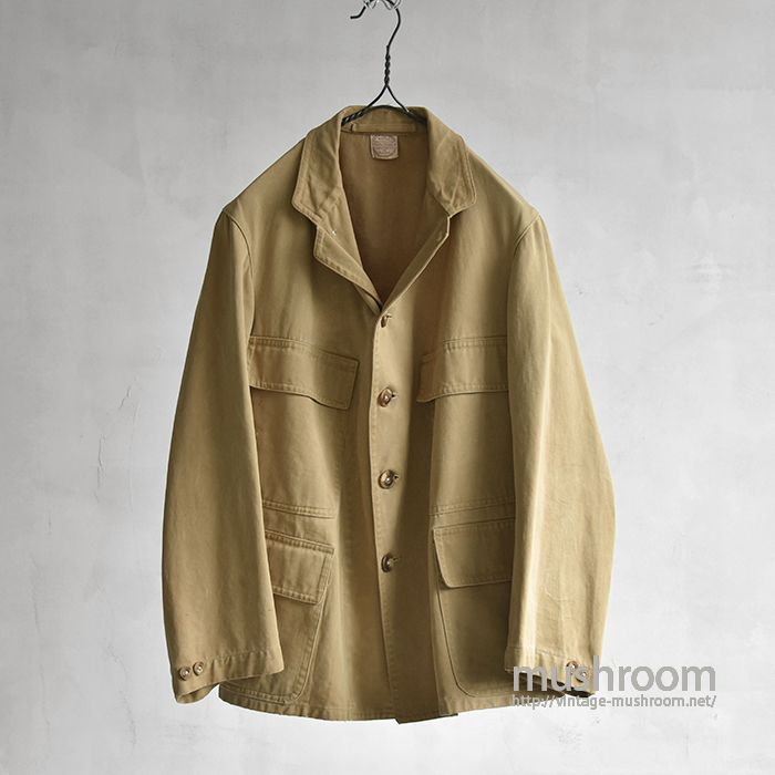 ABERCROMBIE AND FITCH FOUR POCKET HUNTING JACKET