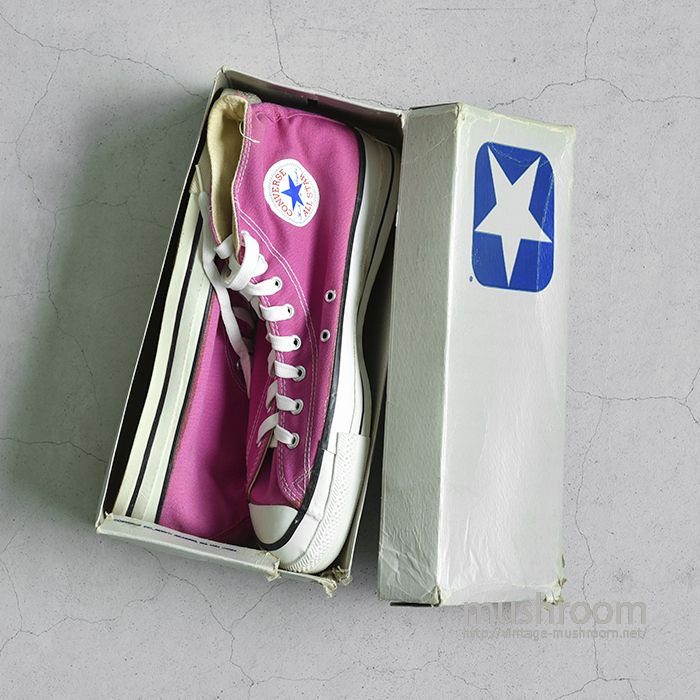 CONVERSE ALL-STAR HI CANVAS SHOES( 11H/DEADSTOCK )