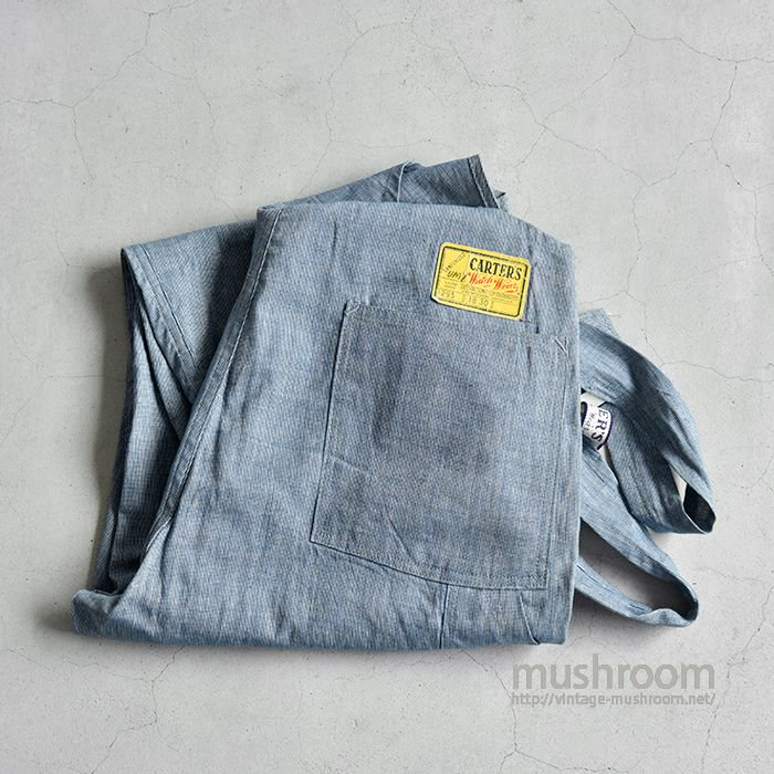 CARTER'S PIN-CHECK OVERALL(ALMOST DEADSTOCK)