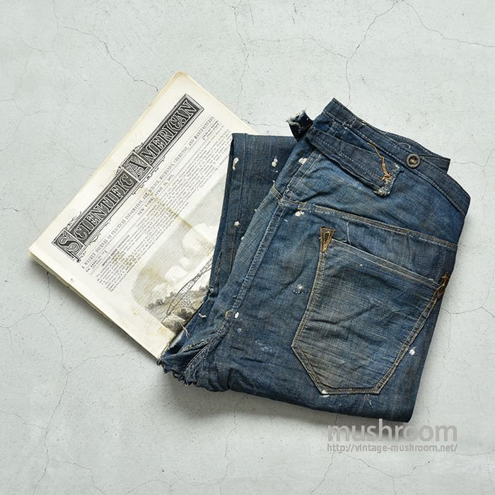 CHEANG QUAN WO'S OVERALLS WAIST-OVERALLS