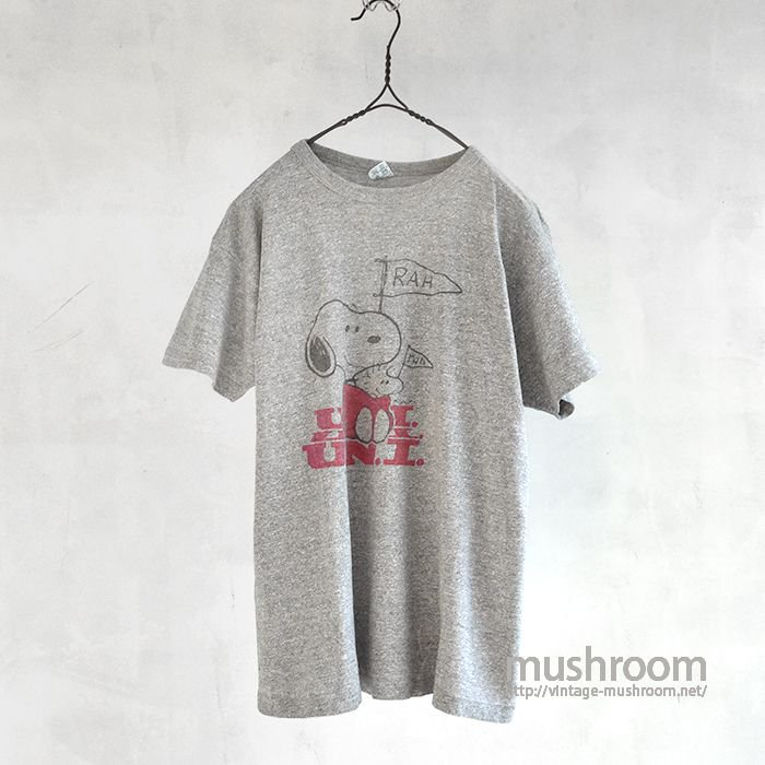 OLD SNOOPY T-SHIRT(MADE BY CHAMPION)