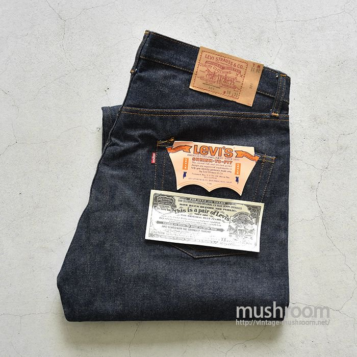 LEVI'S 501 JEANS(DEADSTOCK/SAME AS RED LINE)