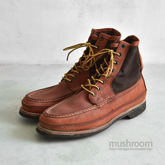 RUSSELL MOCCASIN BOOTS( 8E/DEADSTOCK )