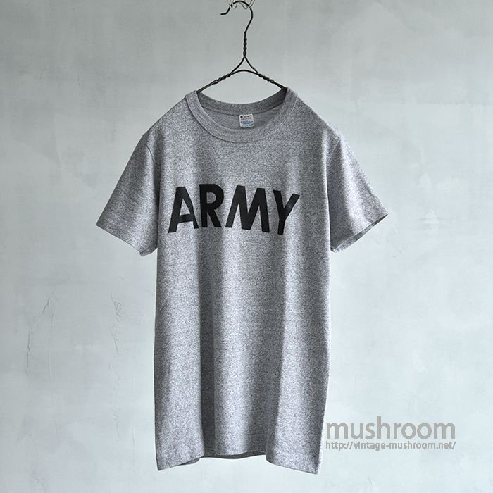 ARMY T-SHIRT(M/MADE BY CHAMPION)