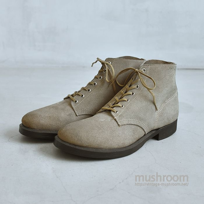OLD SUEDE WORK BOOTS(DEADSTOCK)