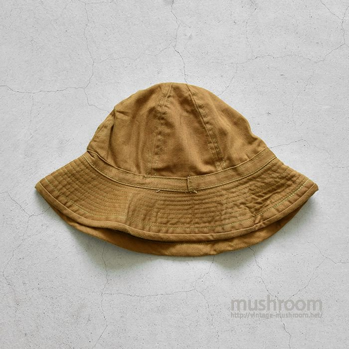 WW1 U.S.ARMY BROWN COTTON HAT(SZ7/DEADSTOCK)