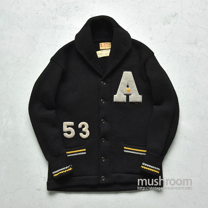 USMA WEST POINT CADET SHAWLCOLLER CARDIGAN(ALMOST DEADSTOCK )