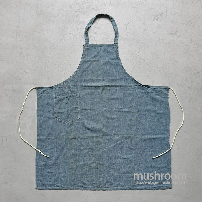 OLD PIN-CHECK  WORK APRON