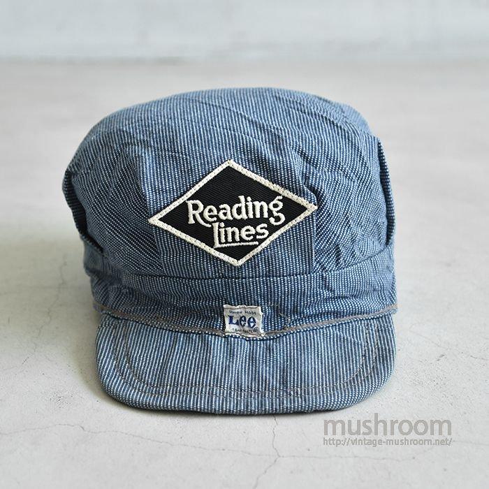 Lee PIN-CHECK WORK CAP(MINT)