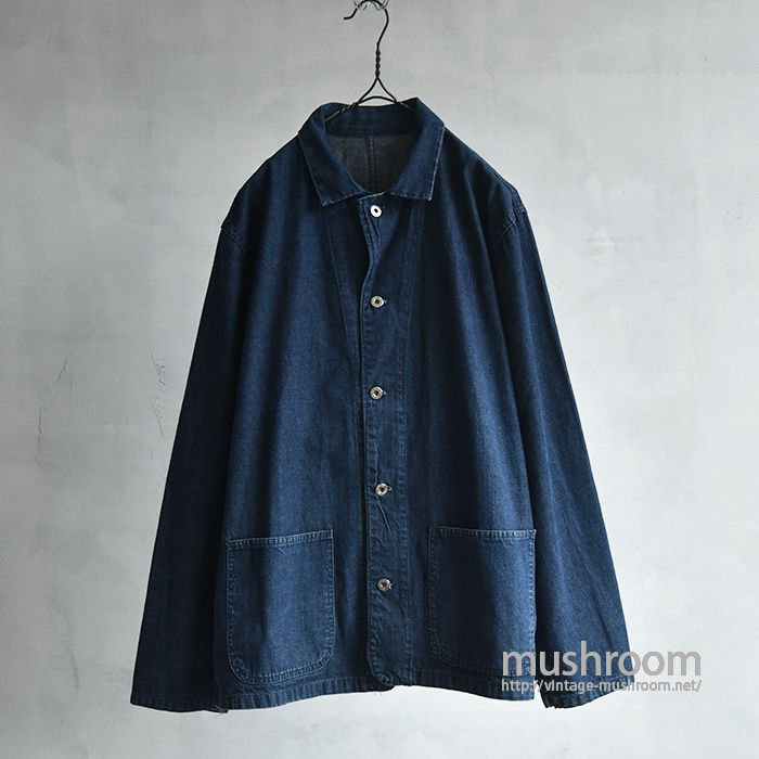 OLD TWO-POCKET DENIM COVERALL