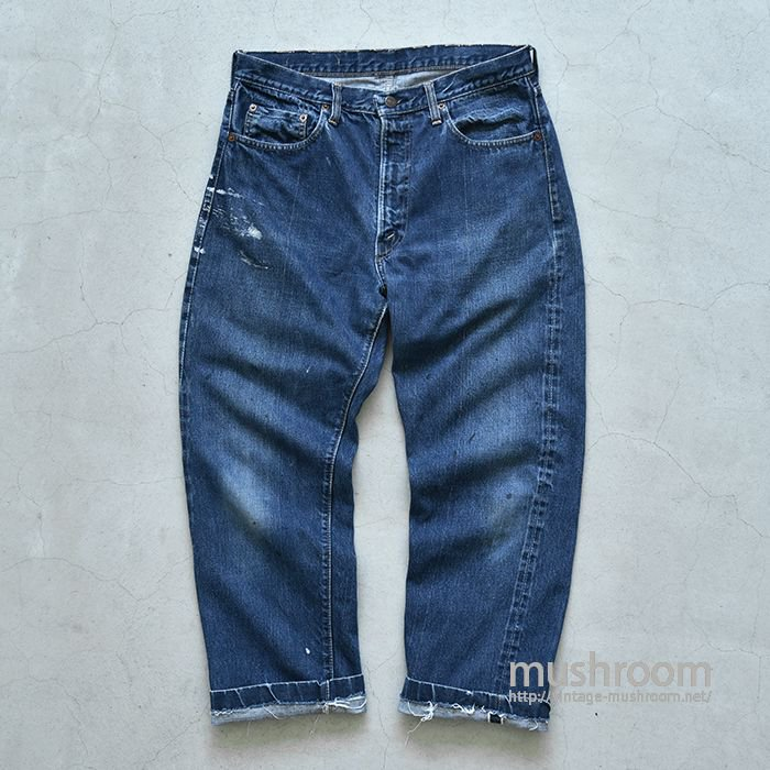 LEVI'S 505 E JEANS WITH SELVEDGE