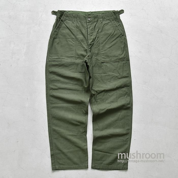 U.S.ARMY COTTON SATEEN UTILITY TROUSERS(ONE-WASHED/L)