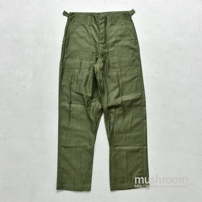 U.S.ARMY COTTON SATEEN UTILITY TROUSERS(DEADSTOCK/M)