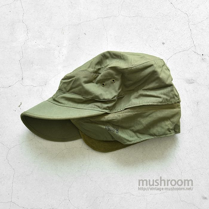 WW2 U.S.ARMY COTTON FIELD CAP WITH VISOR(DEADSTOCK/7 1/2)