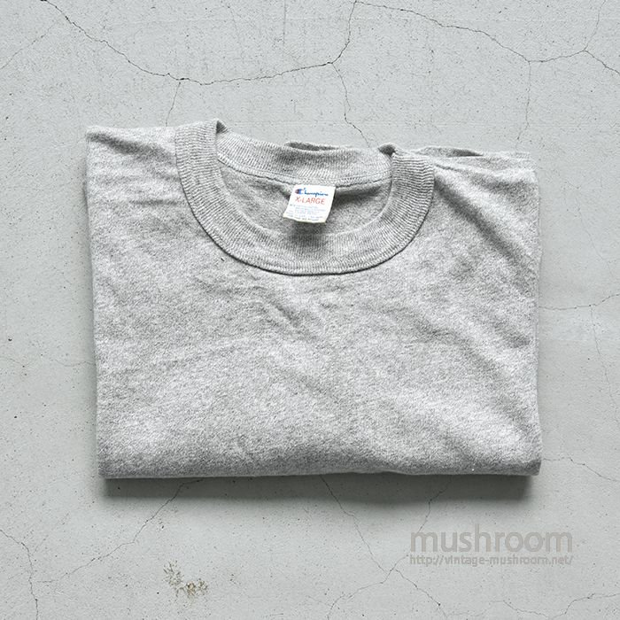 CHAMPION PLAIN T-SHIRT(XL/DEADSTOCK)