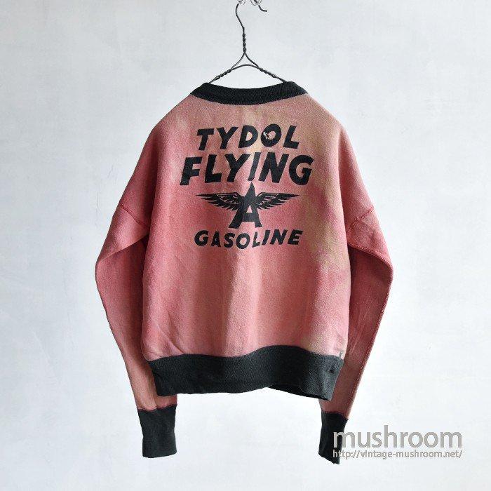 TYDOL FLYING GASOLINE TWO TONE SWEAT SHIRT