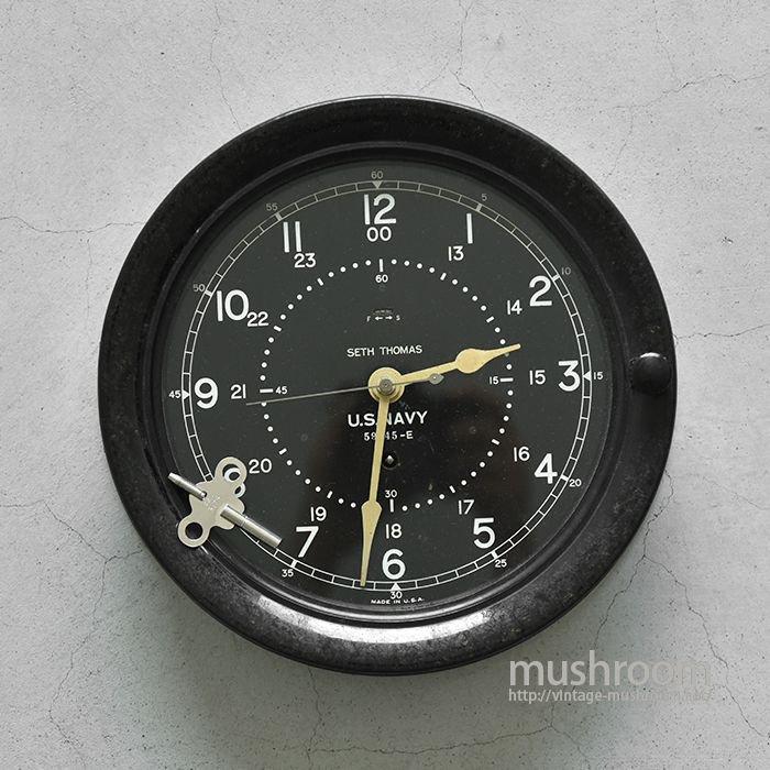 U.S.N DECK CLOCK(SETH THOMAS)