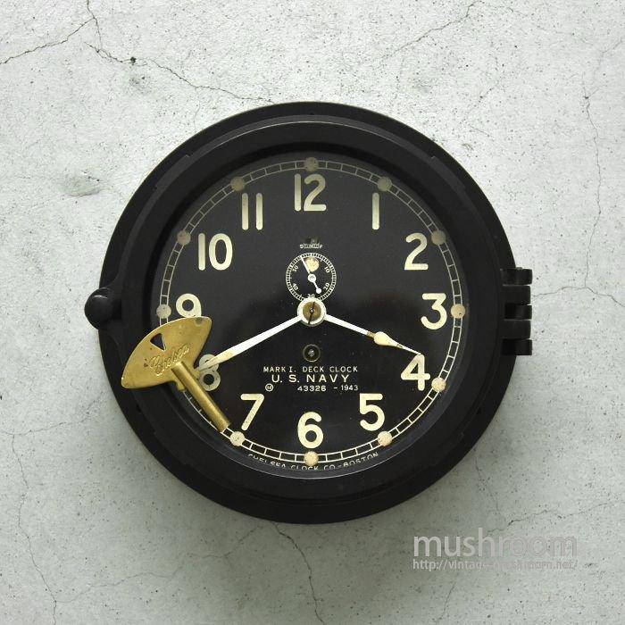 U.S.N MARK1 DECK CLOCK