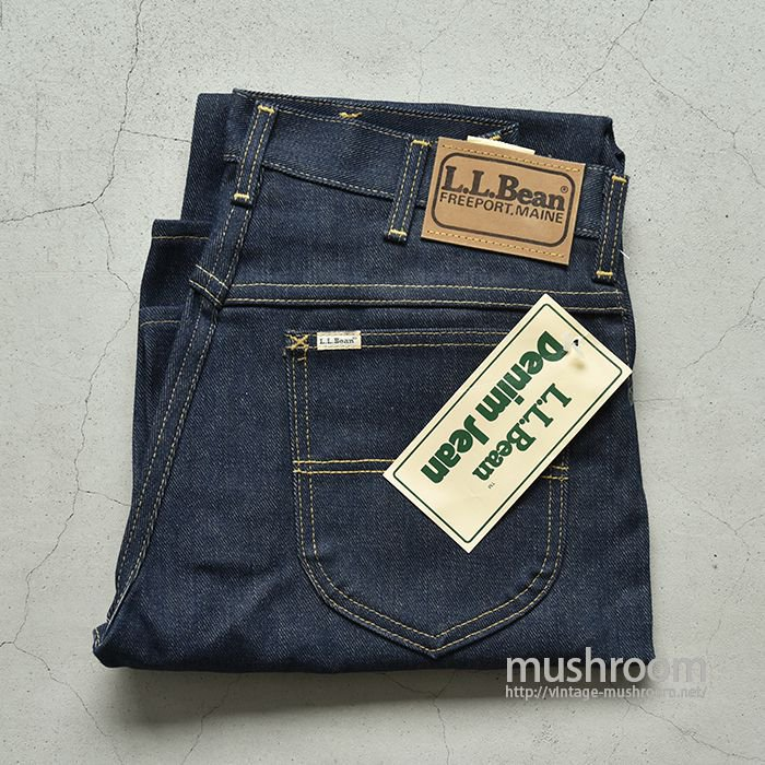 L.L.BEAN 5POCKET JEANS/MADE BY Lee(DEADSTOCK)