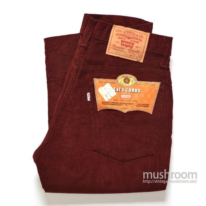 LEVI'S 517-1583 CORDUROY PANTS( W31L30/DEADSTOCK )