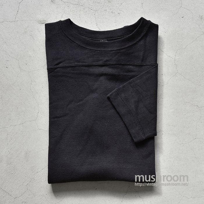 HEALTHKNIT BLACK FOOTBALL T-SHIRT(M/DEADSTOCK)