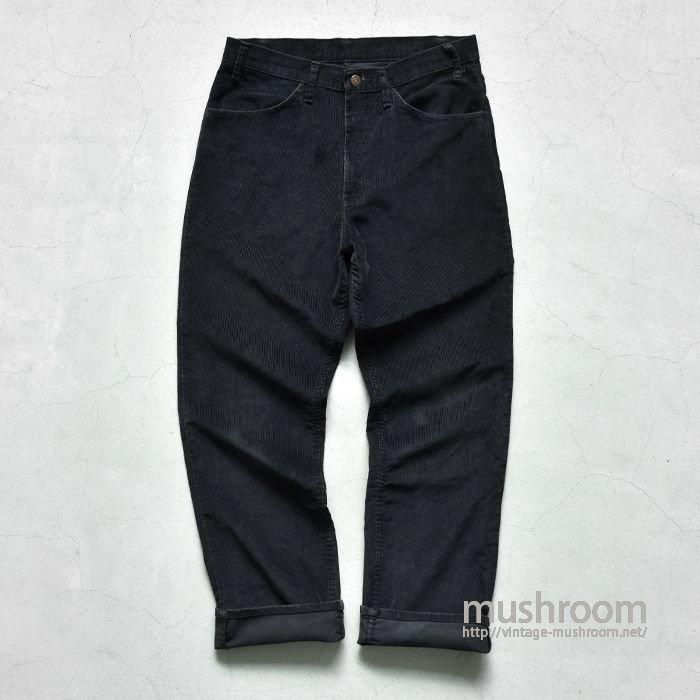 LEVI'S 519 BLACK CORDUROY PANTS