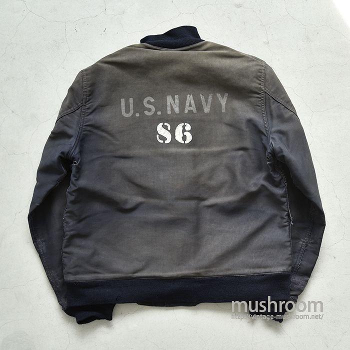 WW2 U.S.NAVY BLUE DECK JACKET