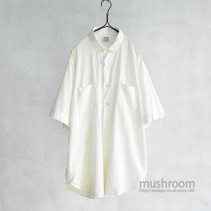 PILGRIM S/S WHITE COTTON SHIRT
