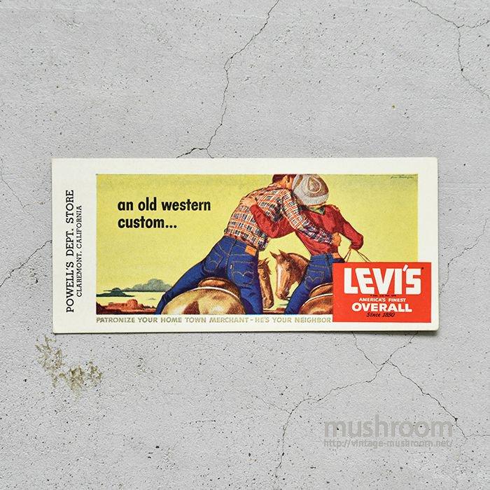 LEVI'S INK BLOTTERS