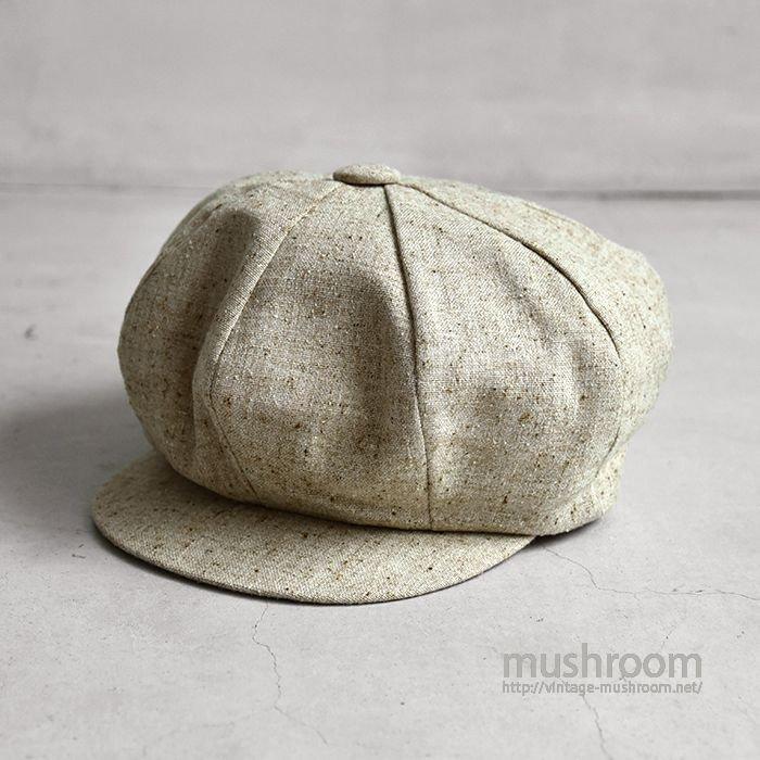 OLD WOOL NEWSBOY HAT(M/MINT)